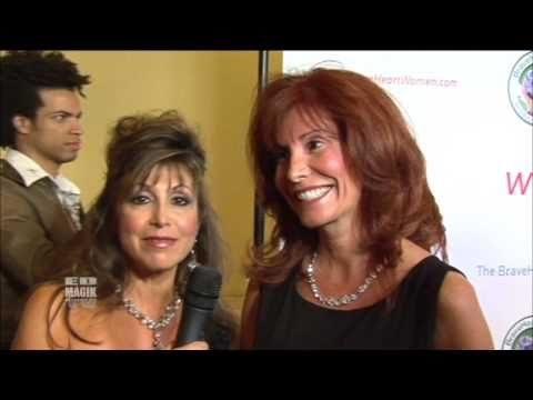 Suzanne DeLaurentiis Celebrity Red Carpet Interview at   BraveHeart Women Awards 2010