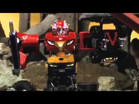 ▶ Bandai - Power Rangers - RPM DX High Octane Zord