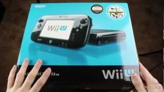 Wii U Deluxe Set Unboxing