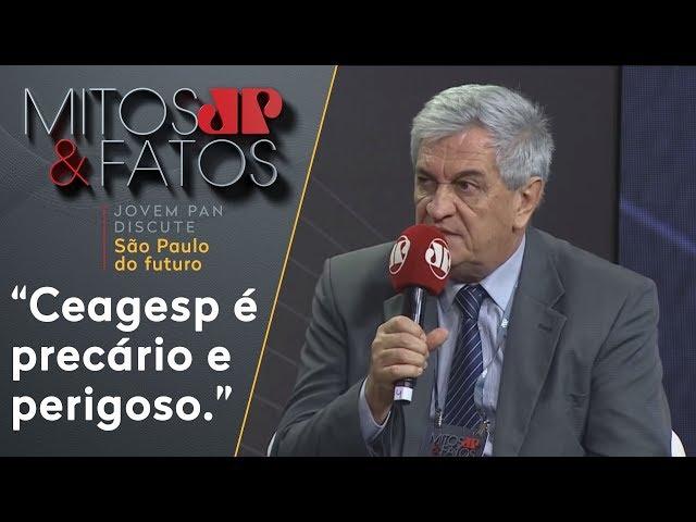 'Ceagesp é precário e perigoso. Precisamos mudar', diz Sérgio Benassi