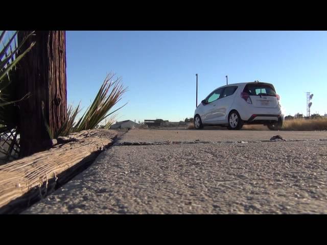 Chevrolet Spark makes a turn on the Fashion Runway, Yuma, Arizona