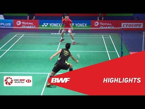 YONEX FRENCH OPEN 2018 | Badminton MS - F - Highlights | BWF 2018