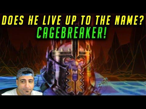 CAGEBREAKER Build Guide Review Raid Shadow Legends