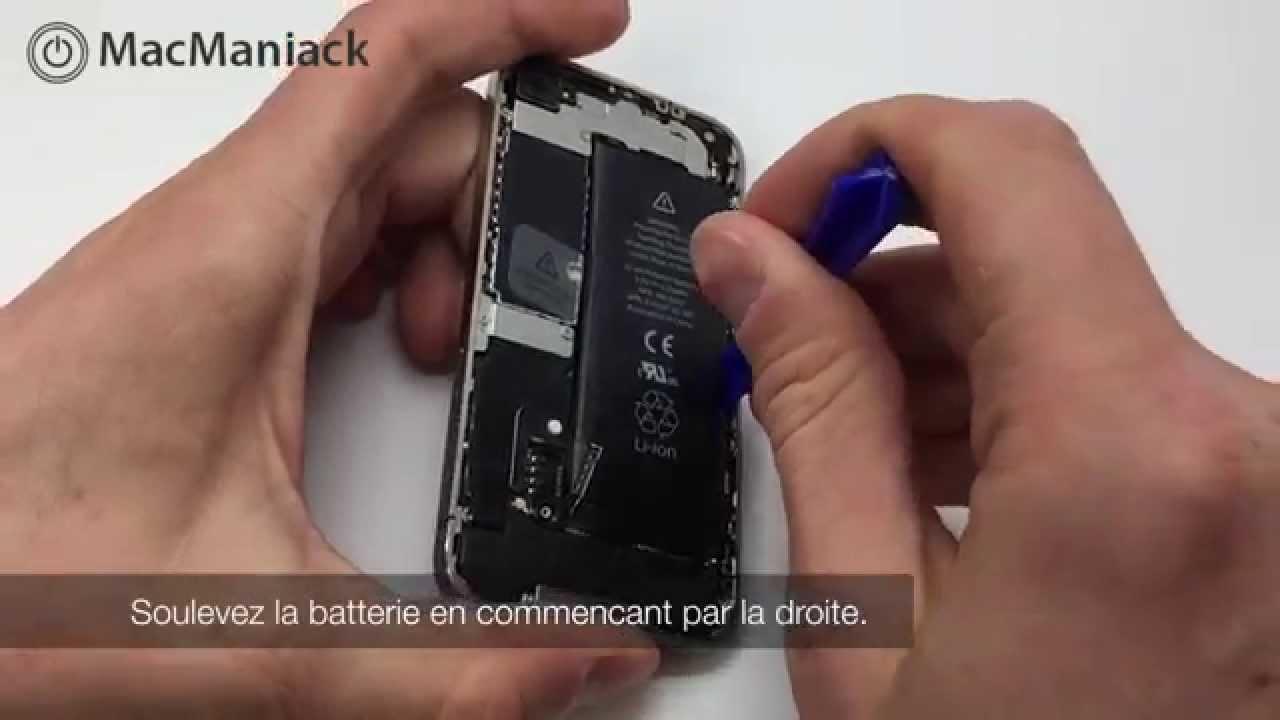Comment Remplacer La Vitre Et Lécran Dun Iphone 4 Tutoriel