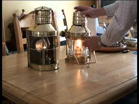 Brass Ships Lanterns X 2, part 2 of 2