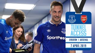 PURE PASSION FROM CALVERT-LEWIN! | TUNNEL ACCESS: EVERTON V ARSENAL