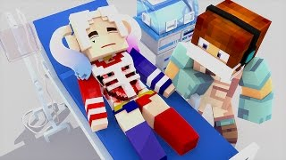 Minecraft: CIRURGIA NA ARLEQUINA !! - ( Minecraft Esquadrão Suicida )