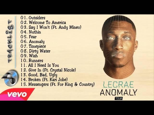 Lecrae Anomaly Full Album Leak - VidInfo
