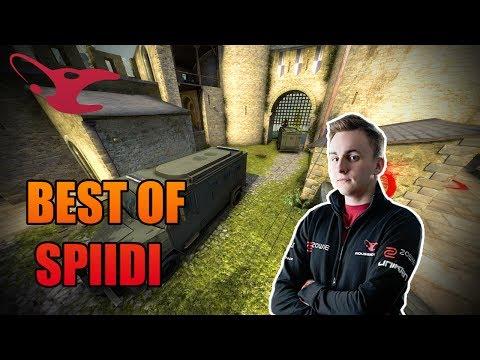 CS:GO - BEST OF Spiidi (INSANE CLUTCHES, NICE ZEUS KILLS AND MORE) [HD]