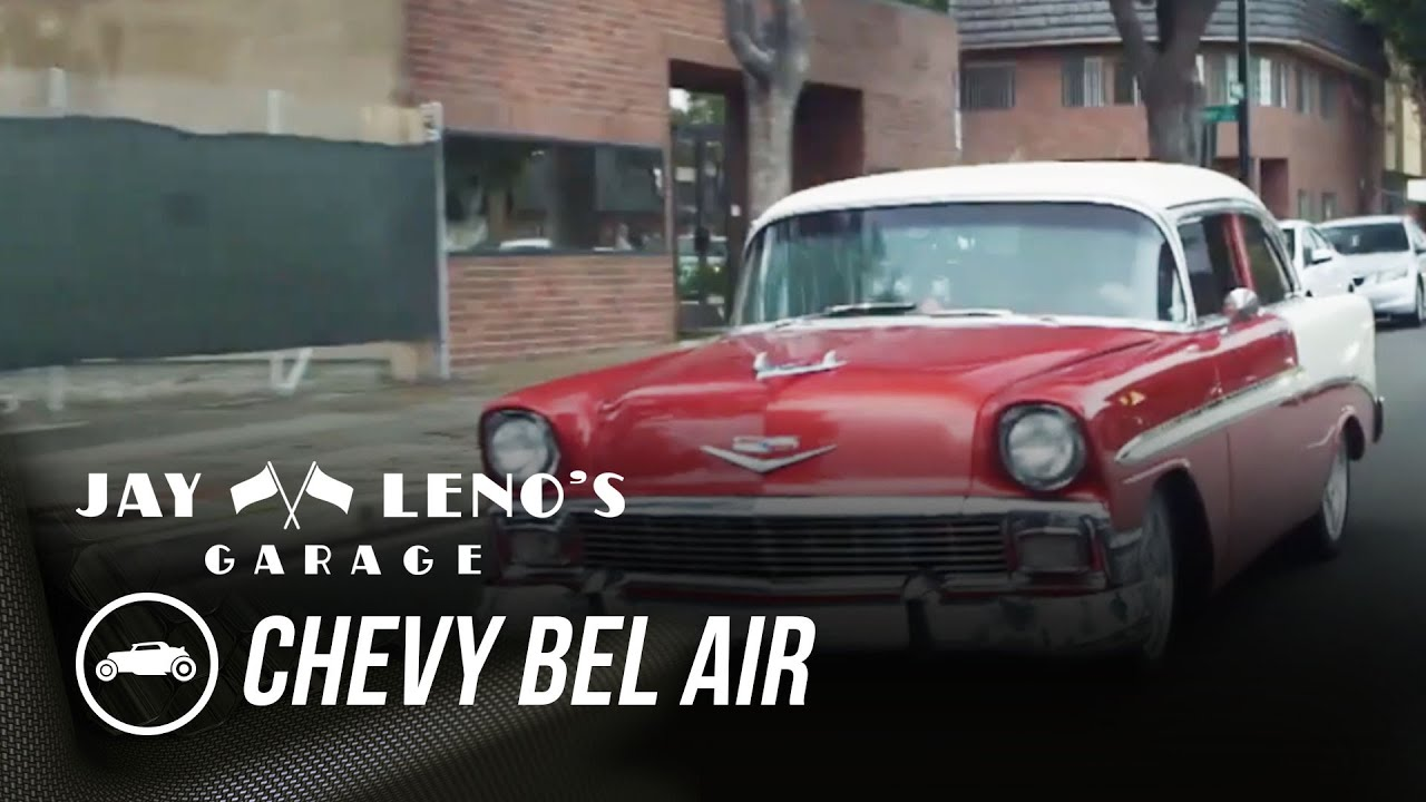 Jay Leno, Billy Gardell, And A 1956 Chevy Bel Air - Jay Leno's Garage