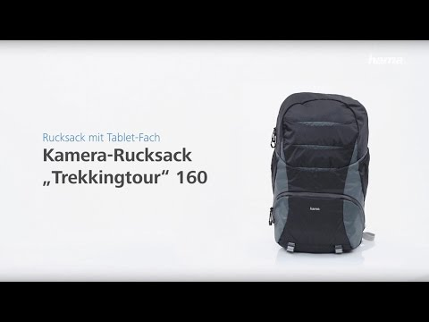 "Hama ""Trekkingtour"" Camera Backpack 160"