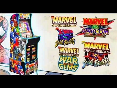Arcade 1up Marver Vs Capcom online from The Average Gamer