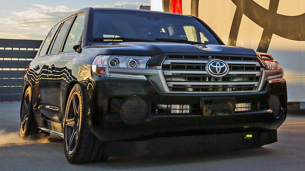 2000hp toyota land cruiser 2017 world s fastest suv 230mph 370kph funnydog tv. Black Bedroom Furniture Sets. Home Design Ideas