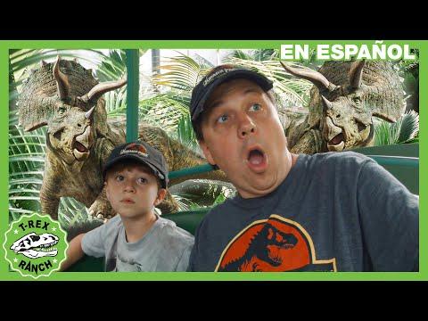 Dinosaurios En La Granja Y Parque De Gulliver | Parque De T-Rex