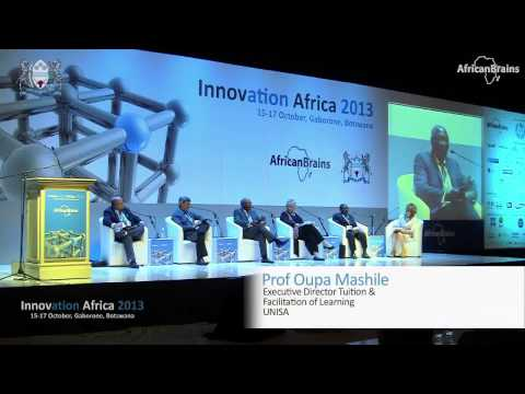 Innovation Africa 2013 - Higher Education in Africa: Chaired by SMART Tech