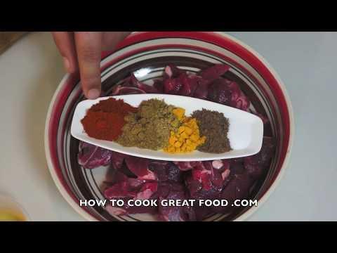 Lamb vindaloo recipe indian mutton masala curry youtube forumfinder Choice Image