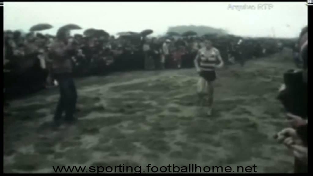 Atletismo :: Carlos Lopes vence mais um corta mato para o Sporting.