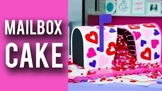 How To Make A VALENTINES MAILBOX CAKE! Rich Chocolate Cake Overflowing With Candy Hearts!(Wanna Get A Shoutout? Comment Using #FANLOVEFEB & I'll Select My FAVE Ones Next Week! Get Us To 3 Milly By My Birthday! New Vids Every Tues!, 2017-02-07T16:00:39.000Z)