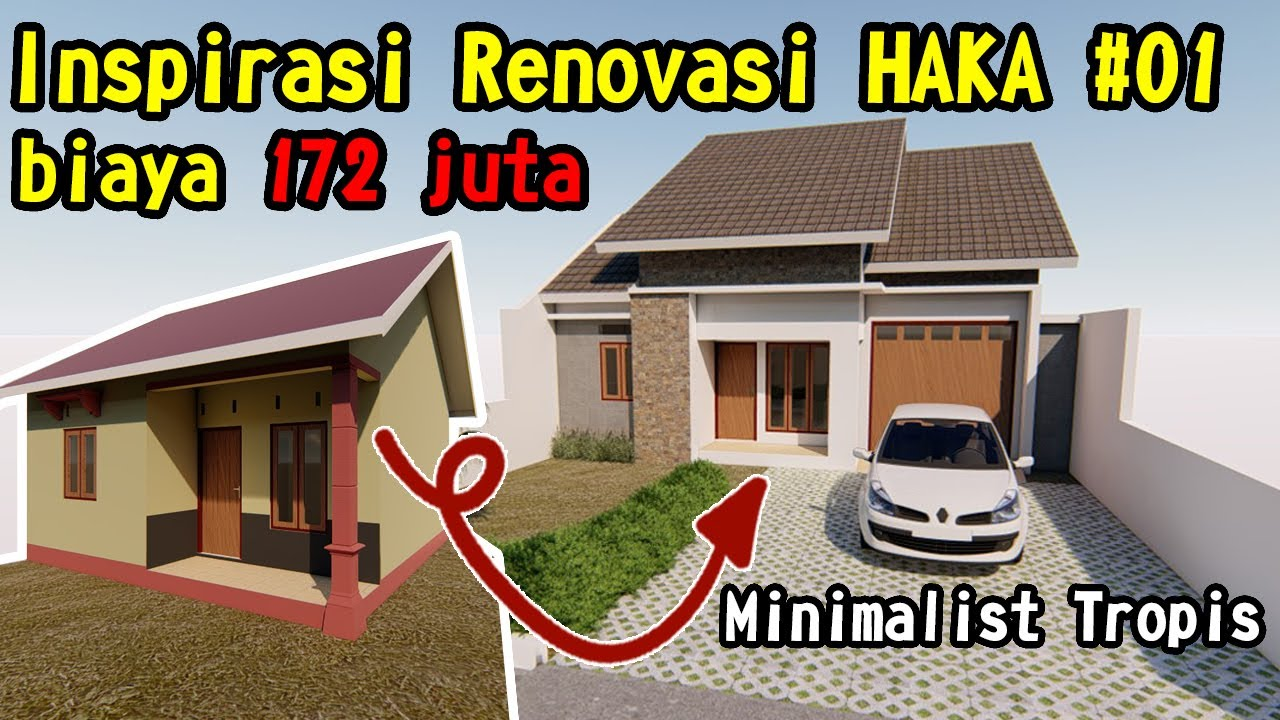 Inspirasi Renovasi Type 36 HAKA #01 - YouTube