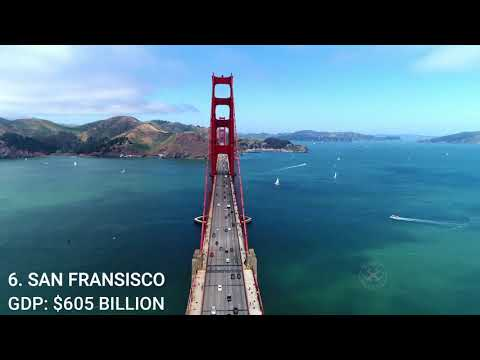 TOP 10 RICHEST CITIES IN USA BY GDP 2020