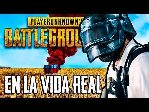 REACCIONANDO A PUBG EN LA VIDA REAL 😱 - Playerunknown's Battlegrounds [La Película]