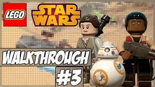 LEGO Star Wars: The Force Awakens Walkthrough Ep.3 w/Angel - Rey!