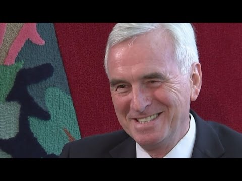John McDonnell: Corbyn's shadow chancellor speaks to Jon Snow