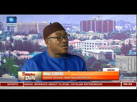 Operation  Python Dance Not Conciliatory - Mike Ejiofor Pt 1 | Sunrise Daily |
