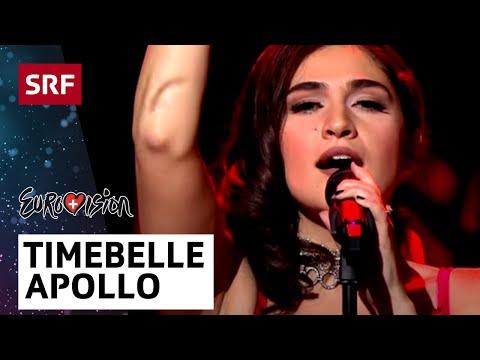Timebelle - Apollo  - ESC-Entscheidungsshow - #srfesc