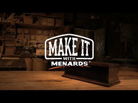 Make It With Menards – Furniture Designer BK Ellison