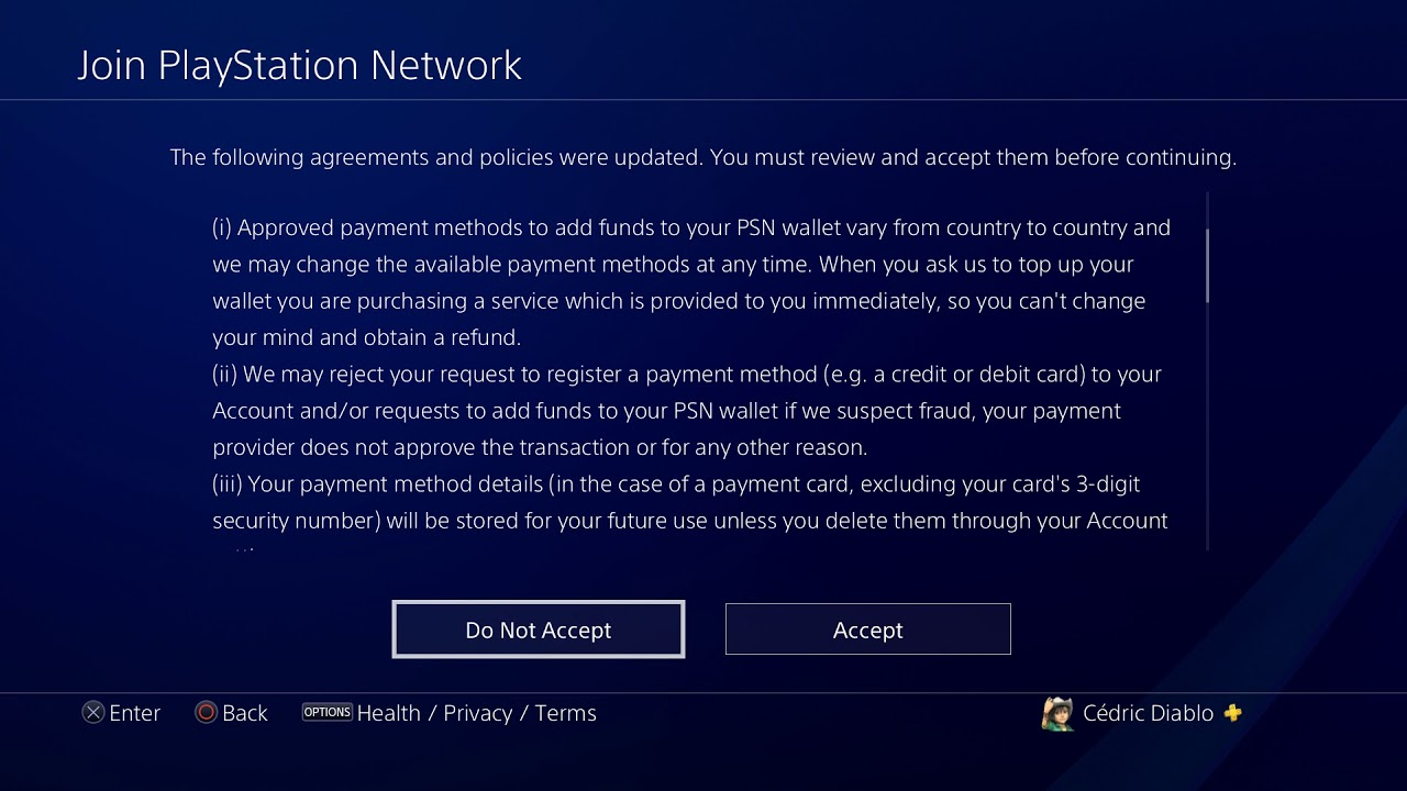 Psn Terms Of Service Youtube