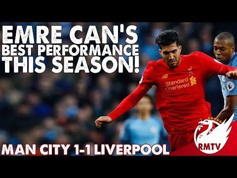 Man City v Liverpool 1-1 | Emre Can's Best Performance This Season! | Chris' Match Reaction