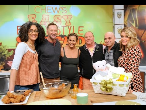 Chrissy Teigen Shows Off Her Special Chicken Wing Recipe - The Chew