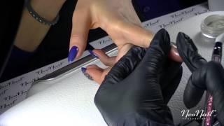 """07 Видео-урок """"Зеркальные ногти пигментом-втиркой"""" от Ангелины Фрейман"""