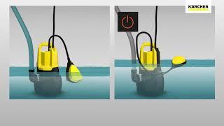 Comment Utiliser La Pompe Immergee Eau Chargee 500w Dirt Sp5 En Boite Carton Karcher 16455030 Youtube
