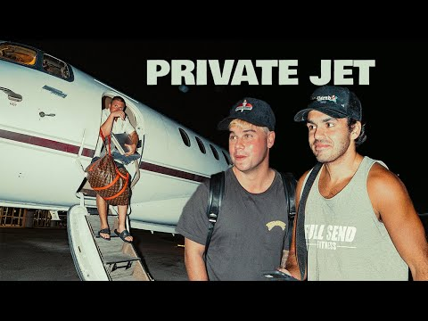 Surprising NELK With a Private Jet!!