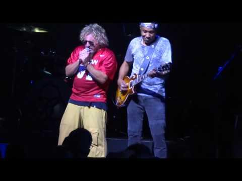 Sammy Hagar & Vic Johnson - Dreams (Huber Heights, 6-20-15)