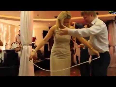 Свадебная игра с верёвками