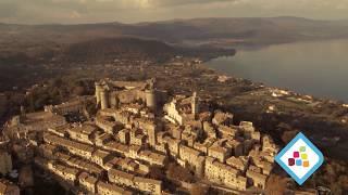 Bracciano Drone sul Borgo Storico, Castello, Lago