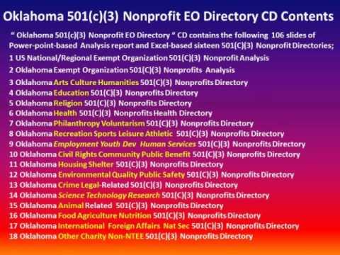 Introducing Oklahoma 501(c)(3) Nonprofits