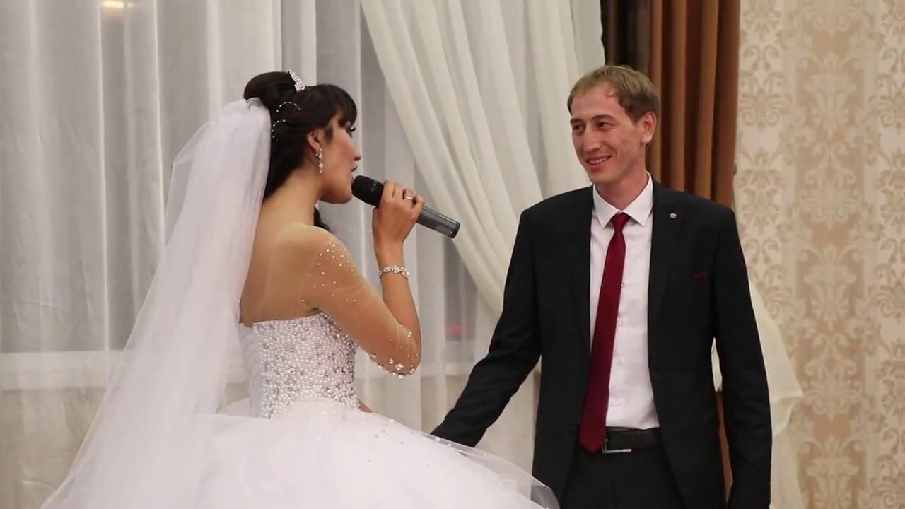 Смотреть видео про свадьбы невеста поет