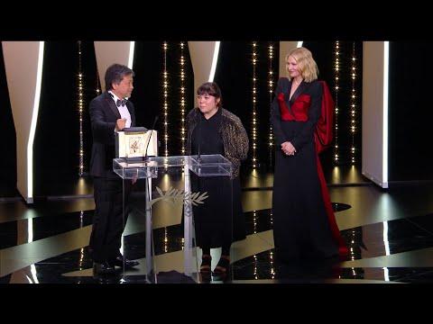"""La Palme d'Or est attribuée à """"Une affaire de Famille"""" de Kore-Eda Hirokazu - Cannes 2018"""