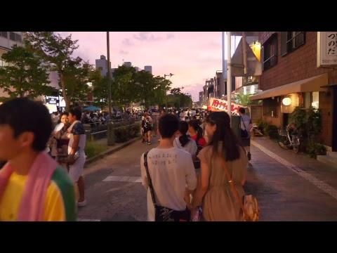 【Live】Evening walk at Kumagaya Uchiwa festival
