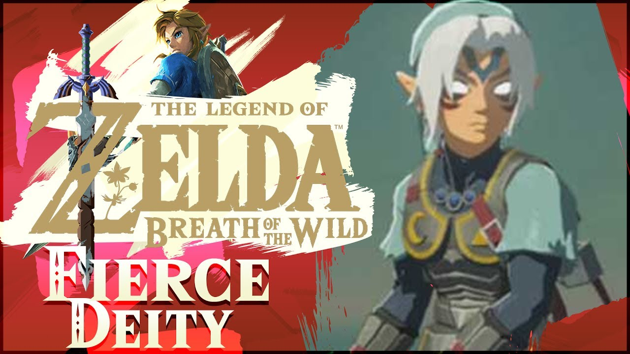 How To Get FIERCE DEITY Armor & Sword WITHOUT CHEATS In The Legend of  Zelda: Breath of the Wild!