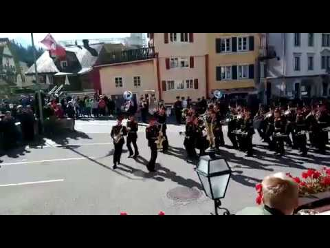 Джаз в исполнении московского суворовского военно-музыкального училища в Швейцарии