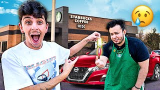 I Ordered Starbucks Then Tipped A New Car