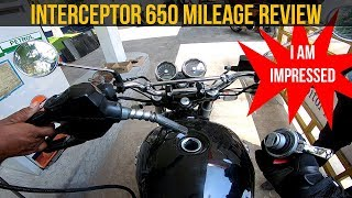 Interceptor 650 Mileage Review