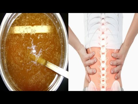 You Will Never Feel Joint and Bone Pain Again with this remedy!