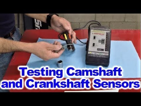 How to test Crankshaft and Camshaft position Sensors after learning how  they work