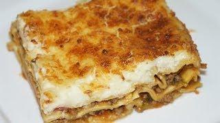 Lasagne A La Bolognaise Facile Et Rapide (cuisinerapide)